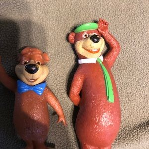Yogi and boo boo figures